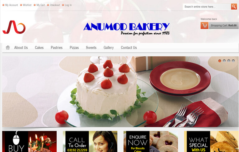 Anumod Bakery